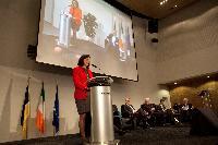 Inauguration du Centre européen de lutte contre la cybercriminalité - EC3, avec la participation de Cecilia Malmström, membre de la CE