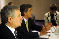 Visite d'Antonio Tajani, vice-président de la CE, au Chili