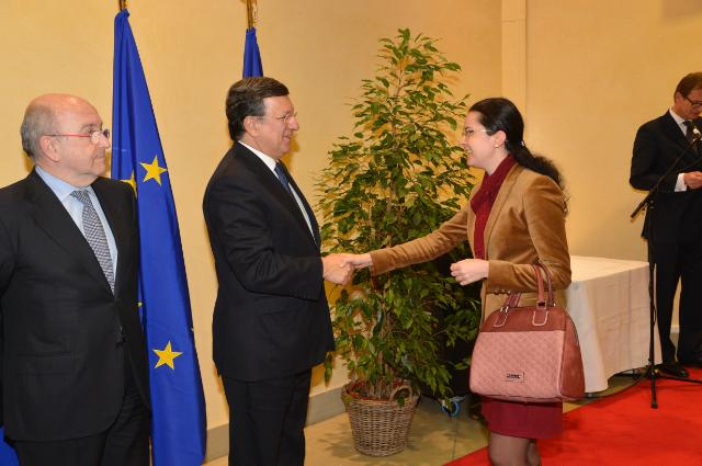 New Year's reception of the EC, 2013