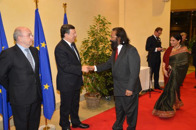 Réception de Nouvel An de la CE, 2013