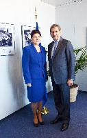 Visit of Rovana Plumb, Romanian Minister for Environment and Forests, to the EC