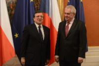 Visit of José Manuel Barroso, President of the EC, to Czech Republic