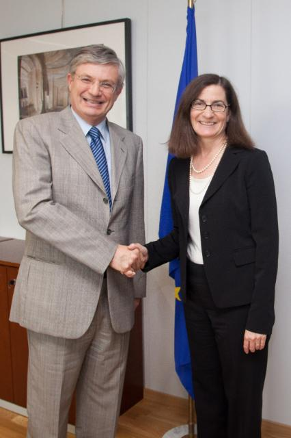Visit of Julie Brill, Commissioner of the US Federal Trade Commission, to the EC