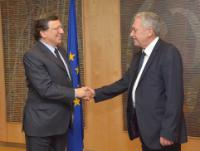 Visit of Fotis Kouvelis, Leader of the Greek Democratic Left Party, to the EC