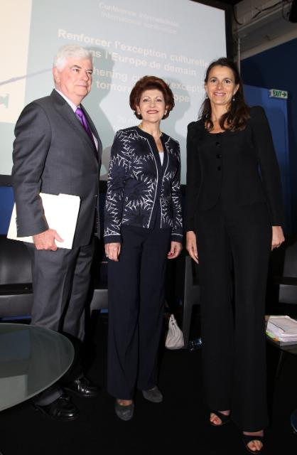 Participation of Androulla Vassiliou, Member of the EC, at the 66th Cannes International Film Festival
