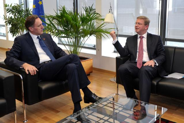 Visit of Ranko Krivokapić, President of the Montenegrin Parliament, to the EC