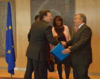 Visit of a delegation from the United Nations to the EC