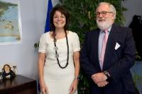 Visit of Miguel Arias Cañete, Spanish Minister for Agriculture, Food and Environmental Affairs, to the EC