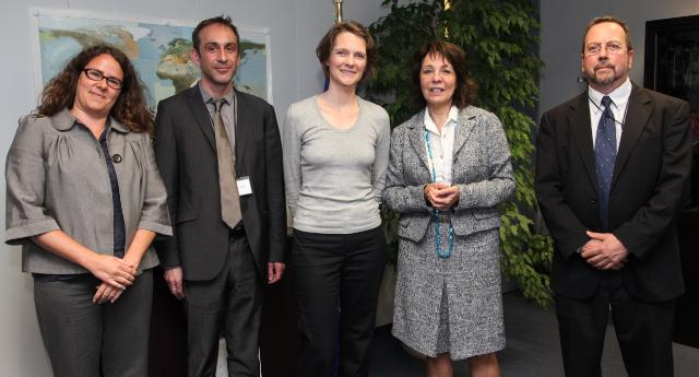 Visit of a delegation from the Deep Sea Conservation Coalition to the EC