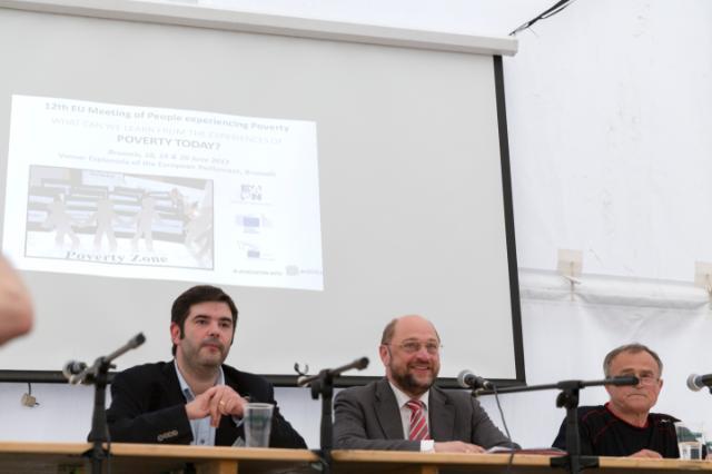 12ème Rencontre européenne de personnes en situation de pauvreté