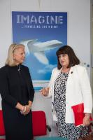 Visite de Virginia Rometty, présidente du conseil et PDG d'IBM, à la CE
