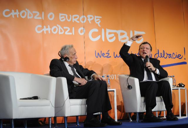 Citizens' Dialogue in Warsaw with José Manuel Barroso and Viviane Reding
