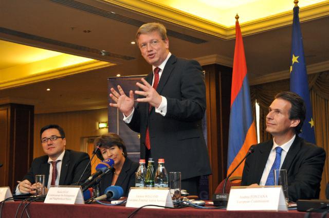 Visit of Štefan Füle, Member of the EC, to Armenia