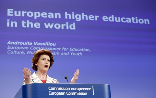 Press conference by Androulla Vassiliou, Member of the EC, on the EC communication on the European higher education in the world