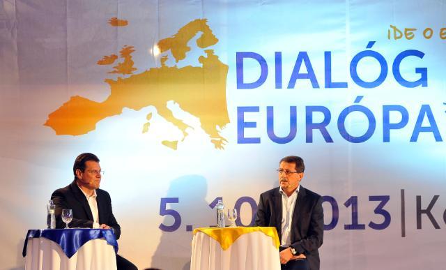Citizens' Dialogue in Košice with Maroš Šefčovič