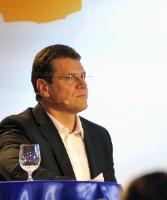 Dialogue avec les citoyens à Košice avec Maroš Šefčovič