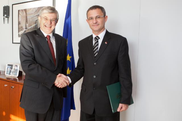 Visit of Dragan Glamočić, Serbian Minister for Agriculture, Forestry and Water Management, to the EC