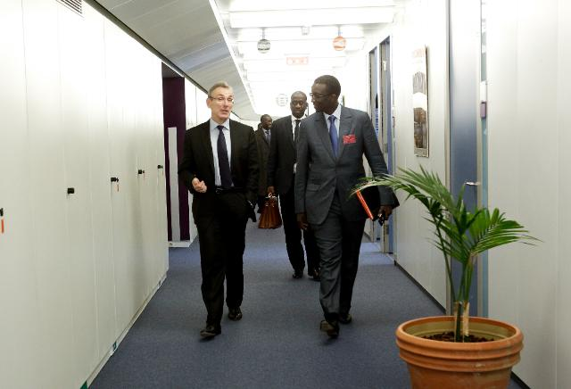 Visit of Amadou Ba, Senegalese Minister for Economy and Finance, to the EC
