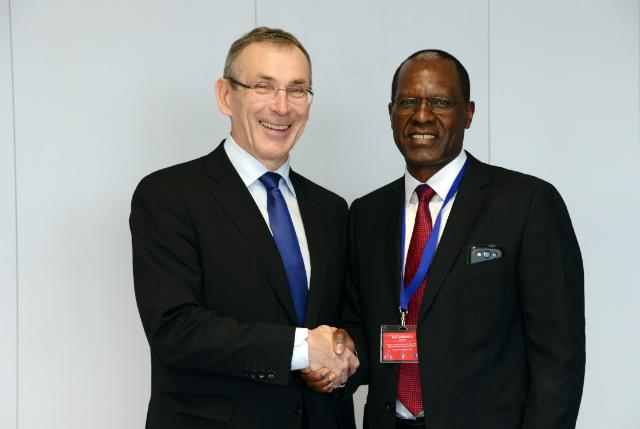 Visit of Tom K. Alweendo, General Director of the National Planning Commission of Namibia, to the EC