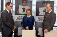 Accession of Luxembourg to the EU 'Children of Peace' initiative