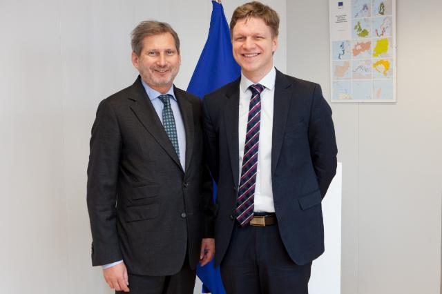 Visit of Tomáš Hudeček, Mayor of Prague, to the EC