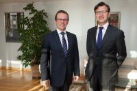 Visit of Gediminas Varvuolis, Ambassador of Lithuania to Belgium, to the EC