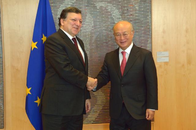 Visit of Yukiya Amano, Director General of the International Atomic Energy Agency, to the EC