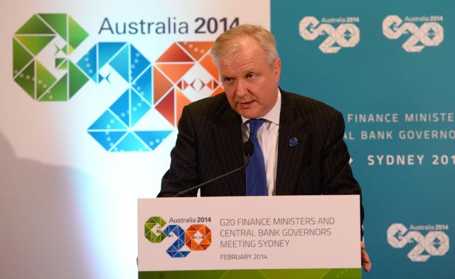 Participation of Olli Rehn, Vice-President of the EC, in the G20 meeting of Ministers for Finance