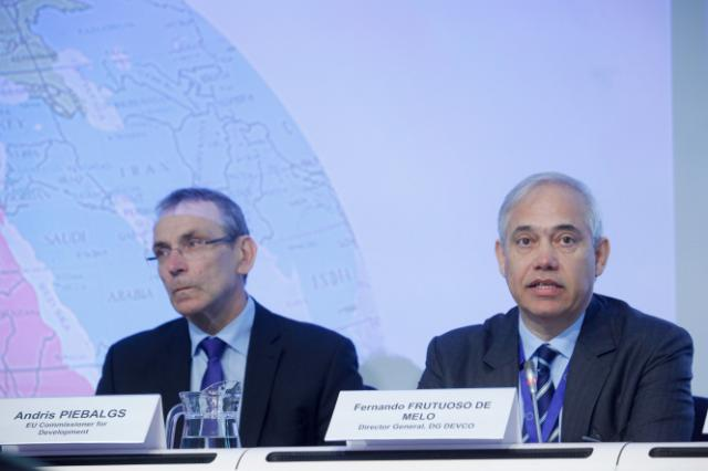 Participation of Andris Piebalgs, Member of the EC, at the EuropeAid Days 2014