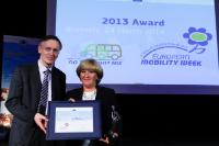 Participation in the European Mobility Week Award Ceremony