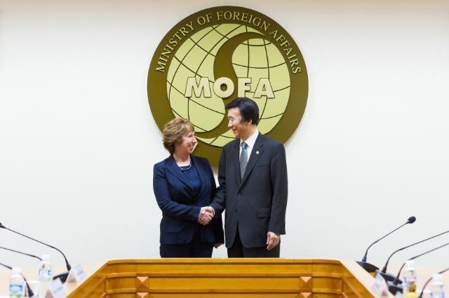 Visit of Catherine Ashton, Vice-President of the EC, to South Korea