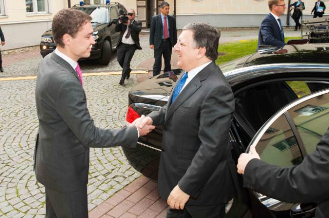 Visit of José Manuel Barroso, President of the EC, to Estonia