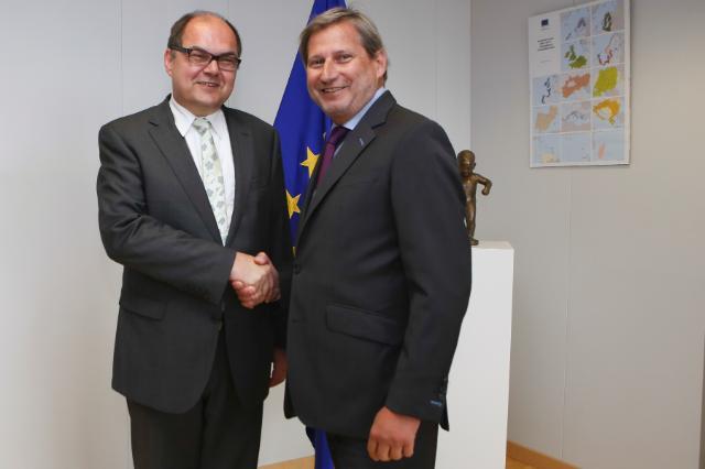 Visite de Christian Schmidt, ministre fédéral allemand de l'Alimentation et de l'Agriculture, à la CE