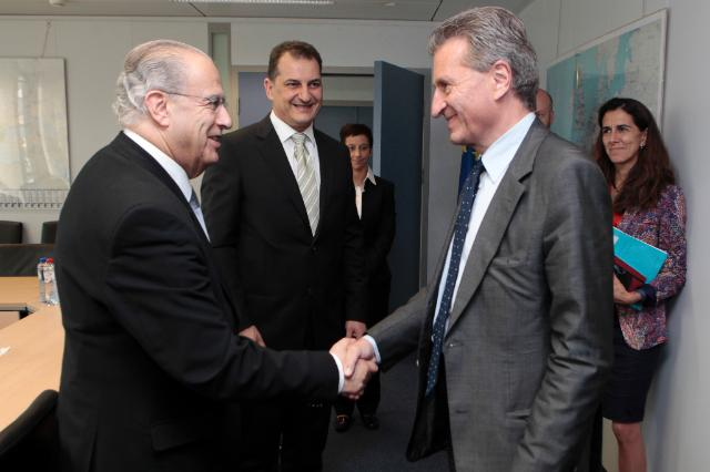 Visit of Ioannis Kasoulides and Yiorgos Lakkotrypis, Cypriot Ministers, to the EC