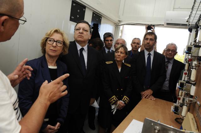 Visite de José Manuel Barroso, président de la CE, à Aix-en-Provence et Alpes-de-Haute-Provence