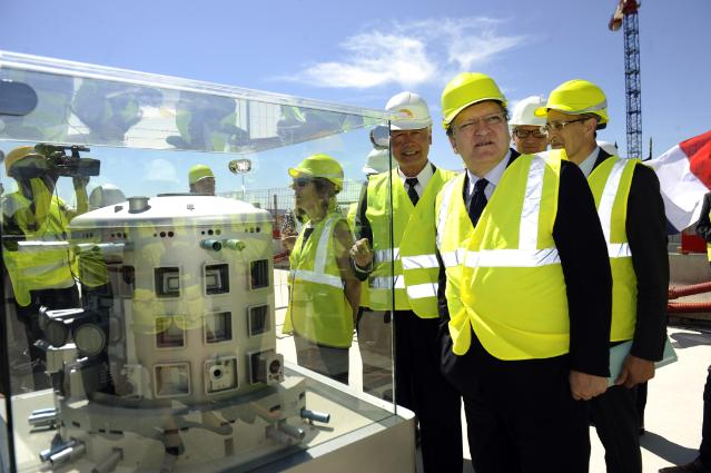Visit of José Manuel Barroso, President of the EC, to Aix-en-Provence and Alpes-de-Haute-Provence