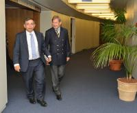 Visit of Henri Malosse, President of the EESC, to the EC