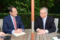 Meeting between Nicos Anastasiades, President of Cyprus, and Jean-Claude Juncker, President-elect of the EC