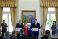 Visit of José Manuel Barroso, President of the EC, and Johannes Hahn, Member of the EC, to Portugal