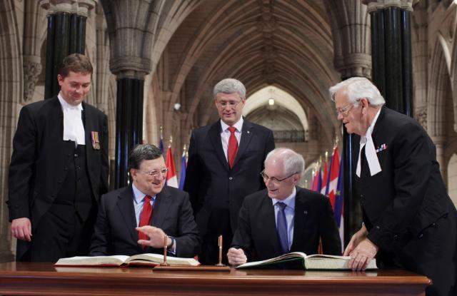 Sommet UE/Canada, 26/09/2014