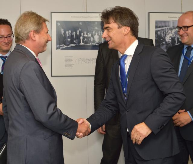 Visit of Branko Grčić, Croatian Deputy Prime Minister and Minister for Regional Development and EU Funds, to the EC