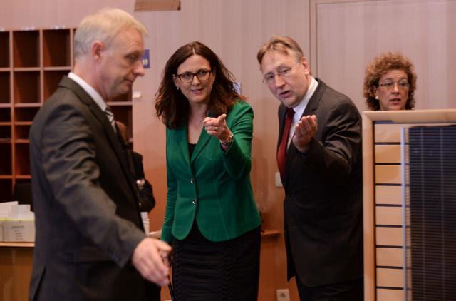 Hearing of Cecilia Malmström, Member designate of the EC, at the EP