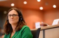 Cecilia Malmström, membre désignée de la CE chargée du Commerce - Suède