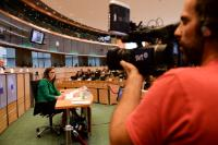 "Illustration of ""Hearing of Cecilia Malmström, Member designate of the EC, at the EP"""