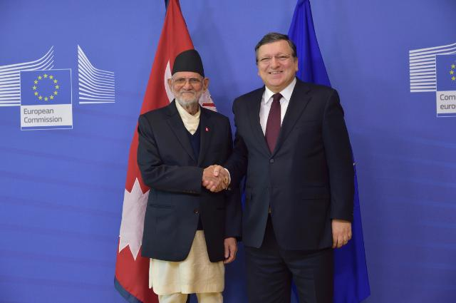 Visit of Sushil Koirala, Nepalese Prime Minister, to the EC