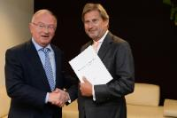 "Illustration of ""Presentation of the report of the multi-level governance and partnership of Luc Van den Brande, former..."