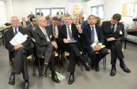 """Illustration of """"Visit of Tonio Borg, Member of the EC, to a food retailers"""""""