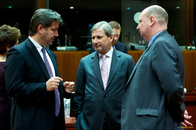 Participation of Johannes Hahn, Member of the EC, at the 3346th Foreign Affairs Council