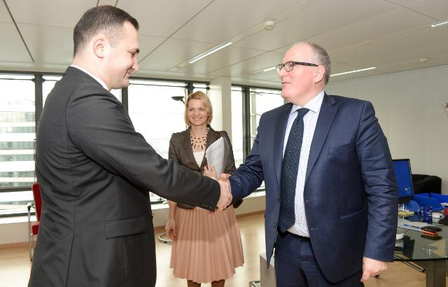 Visit of Members of the Latvian Parliament to the EC