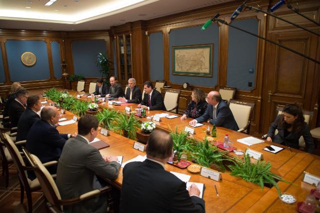Visit of Maroš Šefčovič, Vice-President of the EC, to Russia